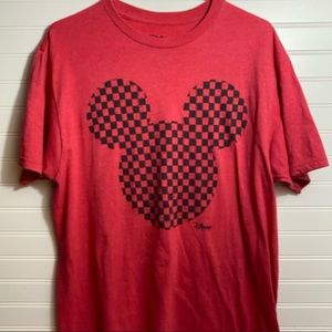 Disney Mickey Mouse soft red Tee!